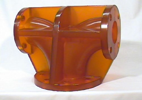 Polyurethane Custom Pipe Tee